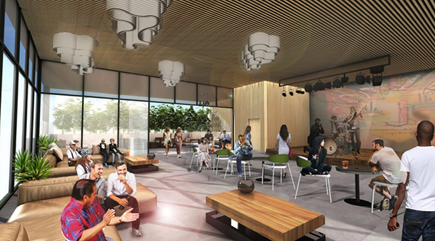 Design Concept for Artist Tree Smoking and Edible Consumption Lounge, opening early 2021